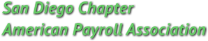 San Diego Chapter American Payroll Association